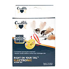 OurPets® Right On Your Tail™ Electronic Cat Toy