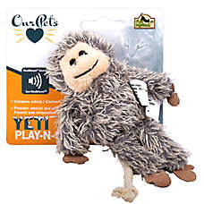 OurPets® Yeti Play-N-Squeak Cat Toy - Plush, Squeaker