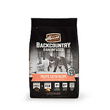 Merrick® Backcountry ™ Pacific Catch Cat Food - High Protein, Raw, Grain Free