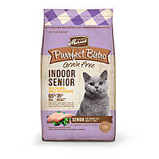 Merrick® Purrfect Bistro ™ Indoor Senior Cat Food - Natural, Grain Free, Chicken & Sweet Potat