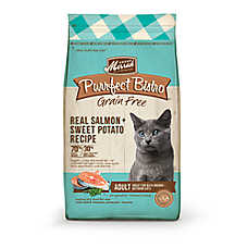 Merrick® Purrfect Bistro ™ Adult Cat Food - Natural, Grain Free, Salmon & Sweet Potato