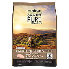 CANIDAE® Pure® Cat Food - Limited Ingredient Diet, Natural, Grain Free, Chicken