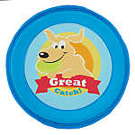 "Top Paw® ""Great Catch"" Flyer Dog Toy - Crinkle"