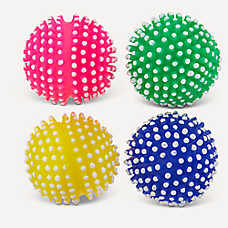Top Paw® Spikey Ball Dog Toys - 4 Pack