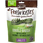Merrick® Fresh Kisses™ Double-Brush Large Dental Dog Treat - Coconut + Botanical Oils