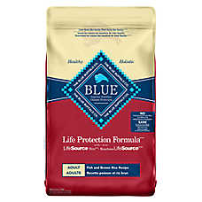 BLUE Life Protection Formula® Adult Dog Food - Fish & Brown Rice