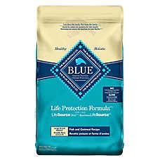 BLUE Life Protection Formula® Large Breed Adult Dog Food - Fish & Oatmeal