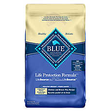 BLUE Life Protection Formula® Healthy Weight Large Breed Adult Dog Food - Chicken & Brown Rice