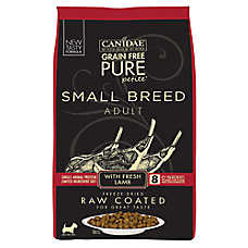 CANIDAE® PURE® Small Breed Adult Dog Food - Raw, Limited Ingredient, Natural, Grain Free, Lamb
