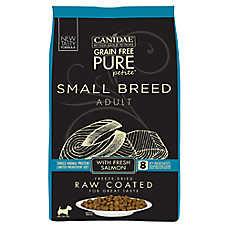 CANIDAE® PURE® Small Breed Adult Dog Food - Raw, Limited Ingredient, Natural, Grain Free, Salmon