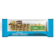 Merrick® Fresh Kisses™ Double-Brush Extra Small Dental Dog Treat - Mint Breath Strips