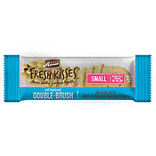 Merrick® Fresh Kisses™ Double-Brush Small Dental Dog Treat - Mint Breath Strips