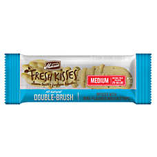 Merrick® Fresh Kisses™ Double-Brush Medium Dental Dog Treat - Mint Breath Strips
