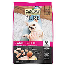 CANIDAE® PURE® Small Breed Dog Food - Limited Ingredient,  Natural, Grain Free, Chicken
