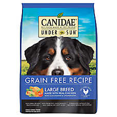 CANIDAE® Under the Sun® Large Breed Dog Food - Natural, Grain Free, Chicken