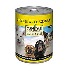 sale 6 / $19	entire stock CANIDAE® dog food, 13 oz. cans