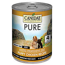 CANIDAE® PURE® Pate Wet Puppy Food Food - Limited Ingredient, Natural, Grain Free, Chicken