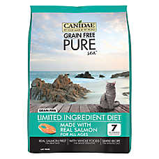 CANIDAE® Pure® Cat Food - Limited Ingredient Diet, Natural, Grain Free, Salmon