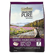 CANIDAE® Pure® Cat Food - Limited Ingredient Diet, Natural, Grain Free, Trout