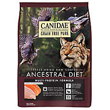 CANIDAE® Ancestrial Diet Cat Food - Raw, Freeze Dried, Grain Free, Multi-Protein