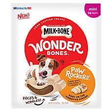 MILK-BONE® Wonder Bones ™ Paw Rockers Dog Treats - Mini