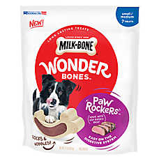MILK-BONE® Wonder Bones ™ Paw ROckers Dog Treat - Small/Medium