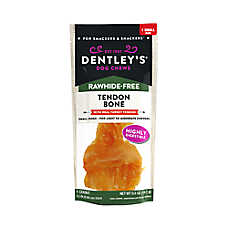Dentley's® Rawhide-Free Turkey Tendon Bone Dog Treat
