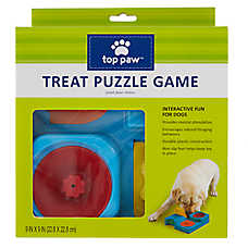 Top Paw® Doors & Drawers Treat Puzzle Game Dog Toy