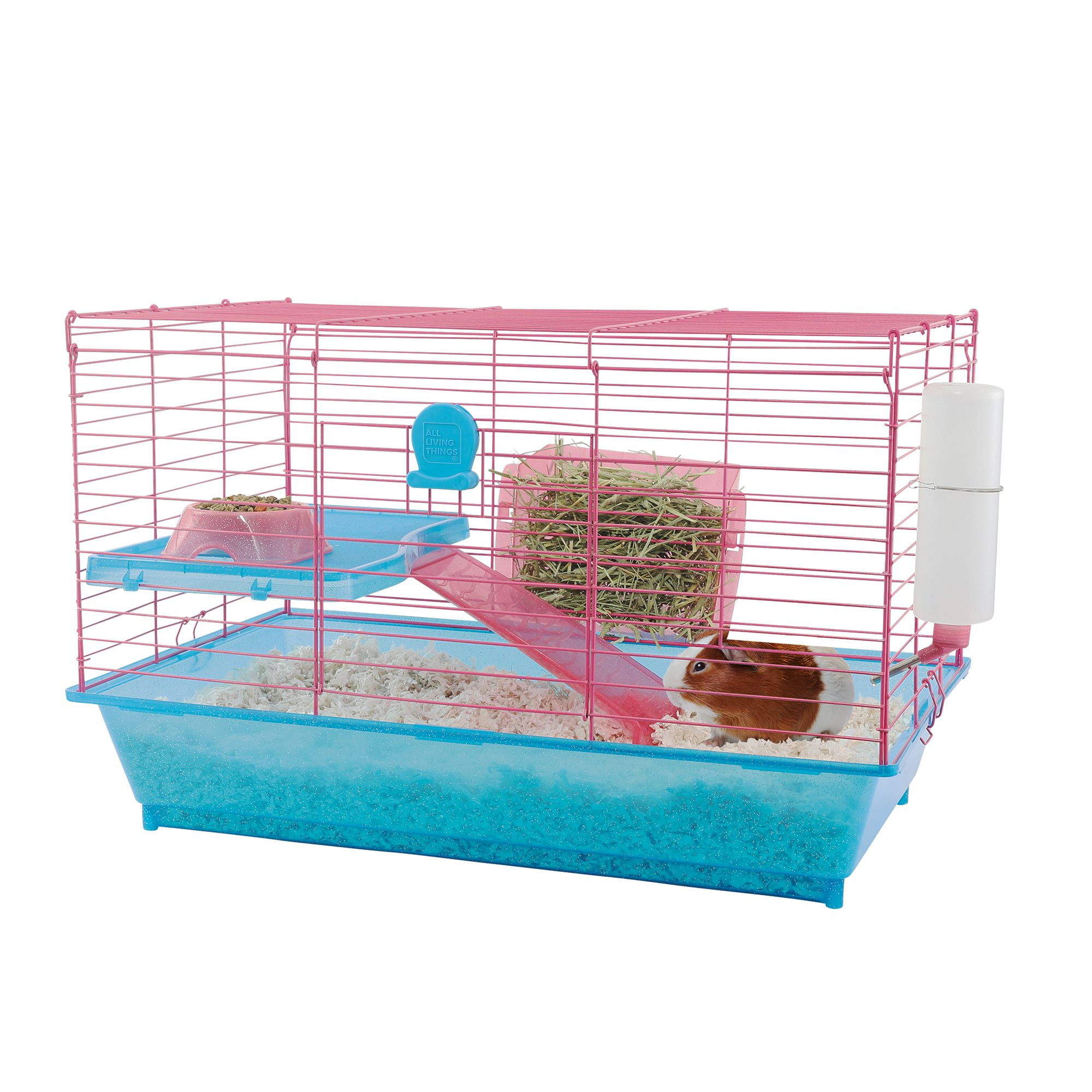 All Living Things Guinea Pig Home Small Pet Cages Petsmart