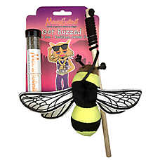 Meowijuana® Get Buzzed Bee Refillable Cat Toy - Catnip