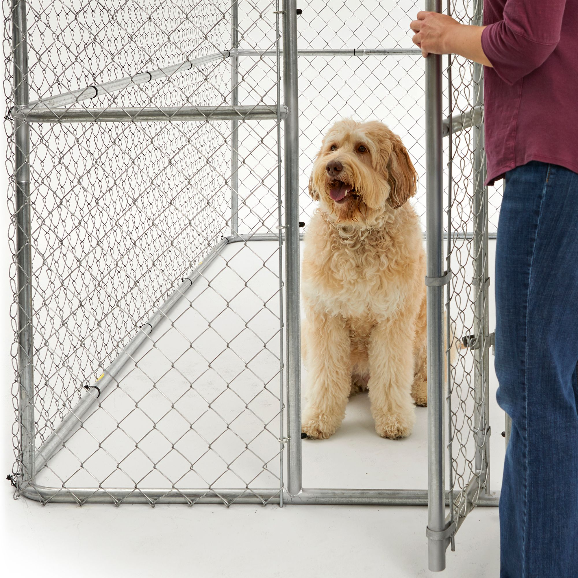 MidWest Chain Link Portable Kennel with