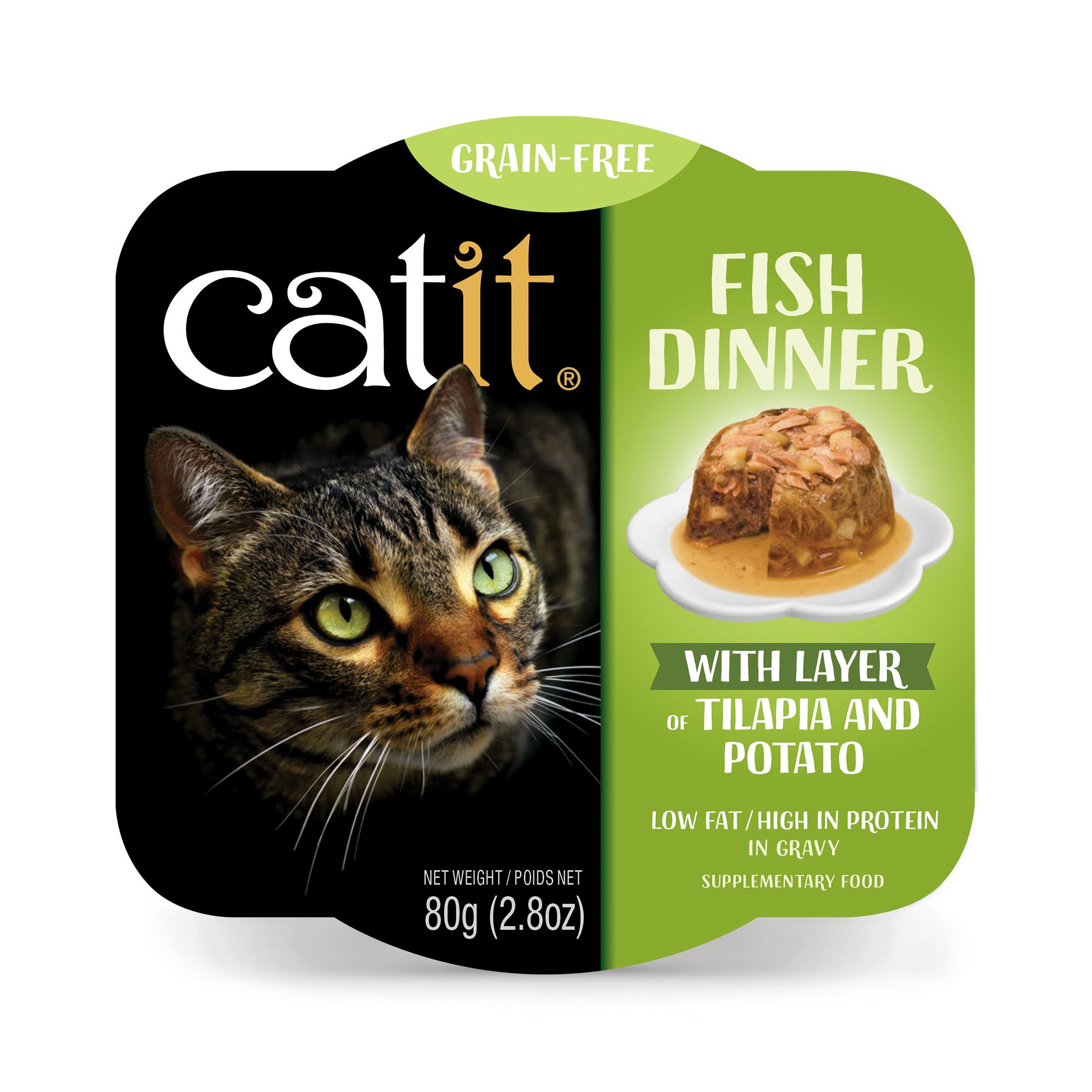 high protein low fat wet cat food