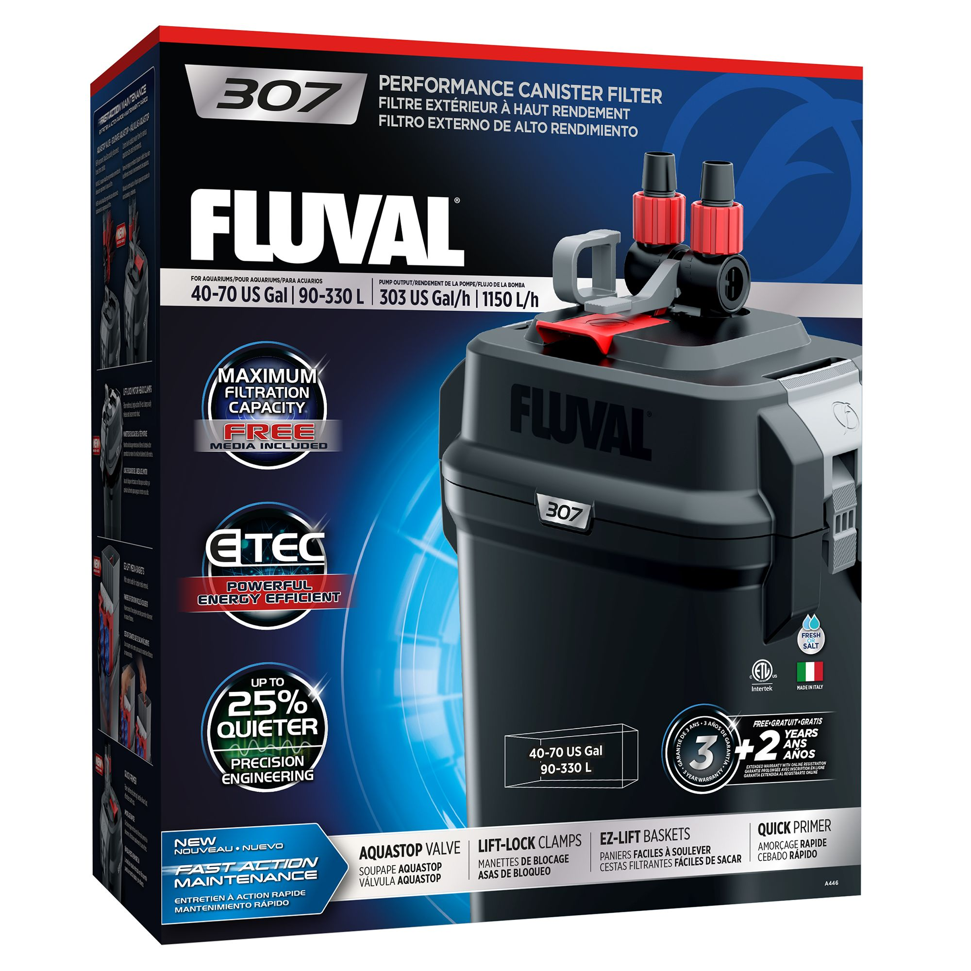 luval® 307 Performance Canister Filter