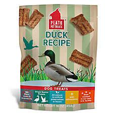 Plato® Strip Dog Treats - Natural, 16 oz