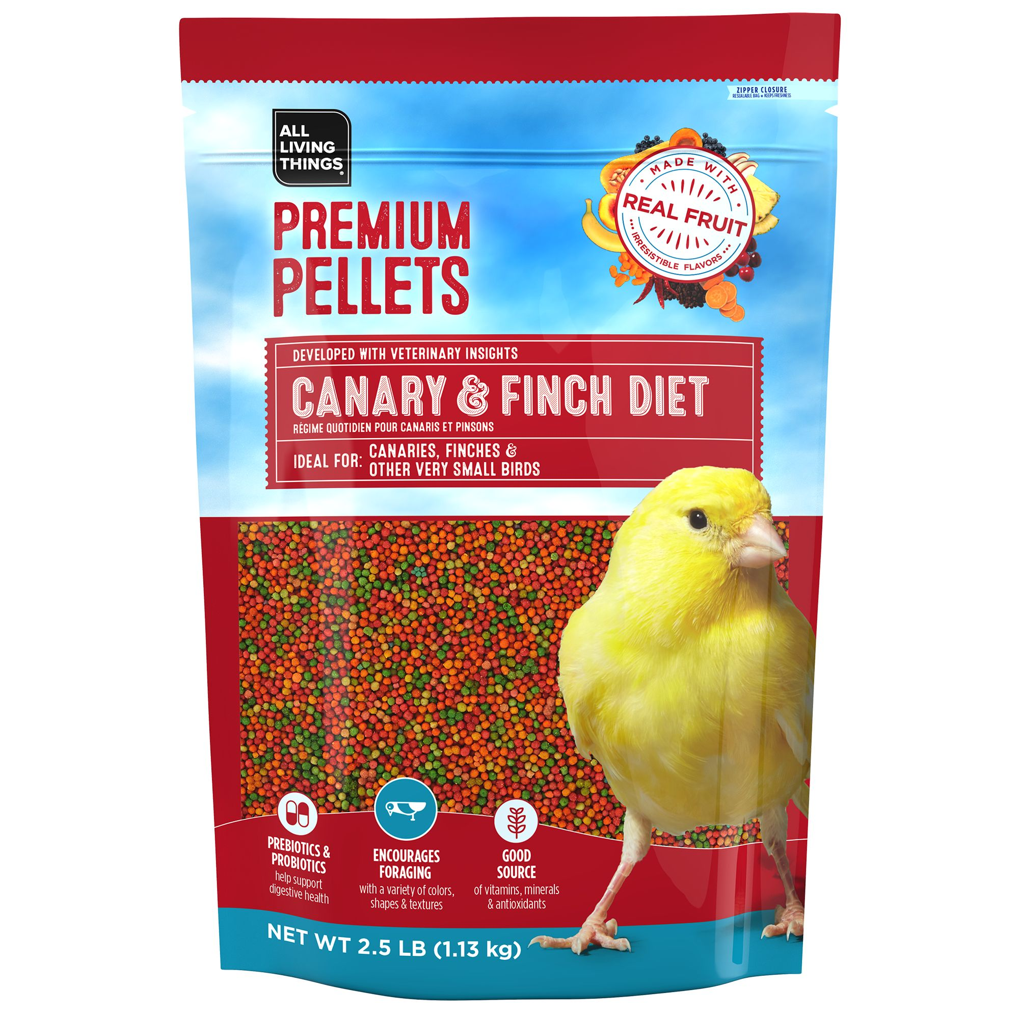 All Living Things® Premium Pellets Canary & Finch Diet