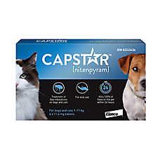 Capstar™ Small Dog & Cat Flea Treatment - 6 Count