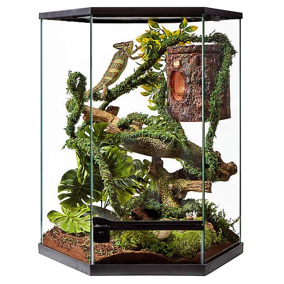 Thrive Tropical Reptile Vertical Hexagon Terrarium  20 Gallon by Thrive