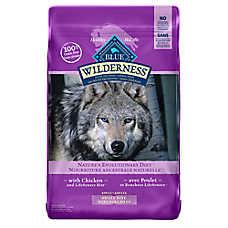 BLUE Wilderness® Grain Free Small Bites Adult Dog Food - Chicken