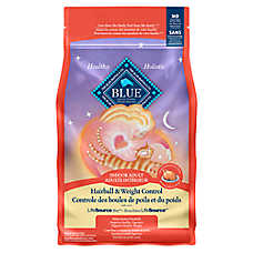 BLUE™ Hairball & Weight Control Indoor Adult Cat Food - Chicken & Brown Rice