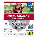 K9 Advantix® II Over 55 lbs Dog Flea & Tick Treatment