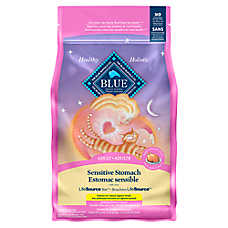 BLUE™ Sensitive Stomach Adult Cat Food - Chicken & Brown Rice