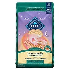 BLUE™ Multi-Cat Health Adult Cat Food - Chicken & Brown Rice