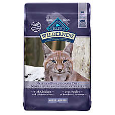 BLUE Wilderness® Grain Free Adult Cat Food - Chicken