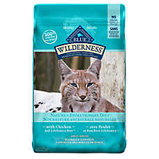 BLUE Wilderness® Indoor Hairball Control Adult Cat Food - Chicken