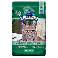 BLUE Wilderness® Grain Free Adult Cat Food - Duck