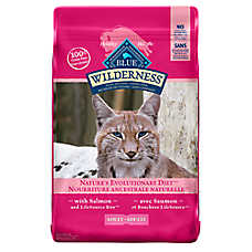 BLUE Wilderness® Grain Free Adult Cat Food - Salmon
