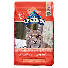 BLUE Wilderness® Grain Free Indoor Hairball & Weight Control Adult Cat Food - Chicken