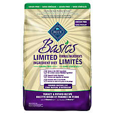 BLUE Basics® Limited Ingredient Grain Free Indoor Senior Cat Food - Turkey & Potato