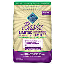 BLUE Basics® Limited Ingredient Grain Free Indoor Adult Cat Food - Turkey & Potato