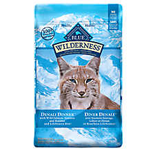 BLUE Wilderness® Grain Free Denali Dinner™ Adult Cat Food - Salmon, Venison & Halibut